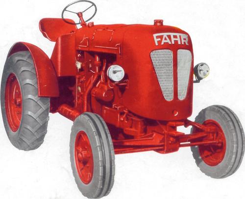 Der D 28 war die erste Nachkriegskonstruktion von Fahr.