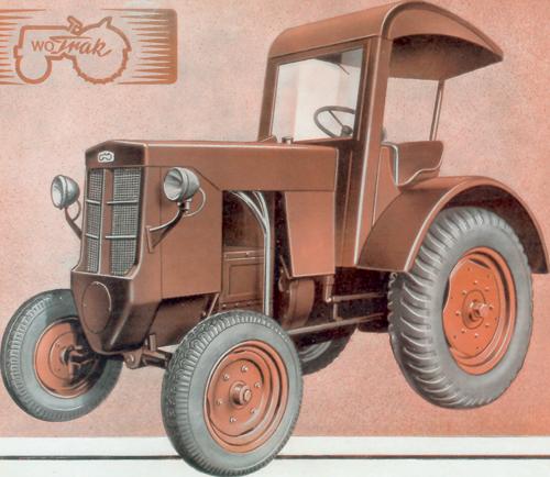 Der nur in geringen Stückzahlen gebaute Wotrak wurde von seinem Hersteller aufwendig eingekleidet