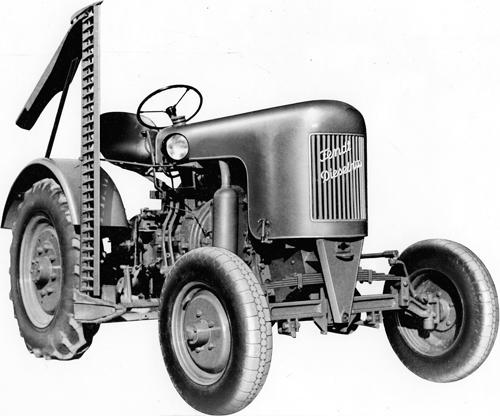 Das komplett neu entwickelte Dieselross F 15 ergänzte das Fendt-Angebot nach unten