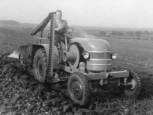 Technisch auf dem Stand von 1939, aber unerreicht preisgünstig: Der neue Kramer K 12 V kostete nur 3.575 DM
