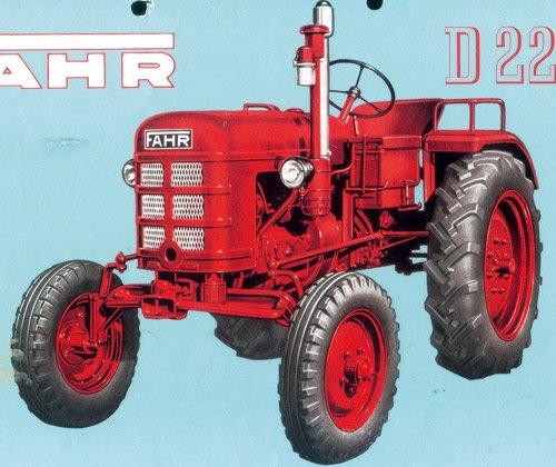 Fahr D 22 PH:Weiterentwicklung des D 17 H mit hubraumstärkerem Motor